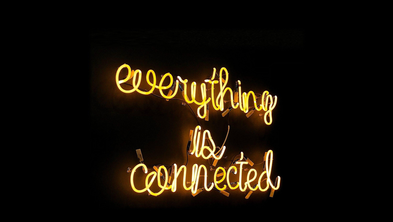 Alles is met elkaar verbonden